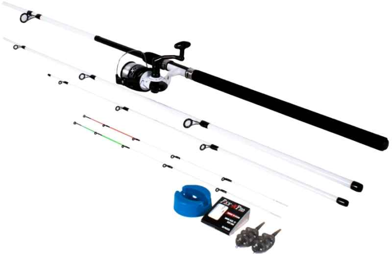 FISH-XPRO Method feeder set 3,3m + 30 navijak