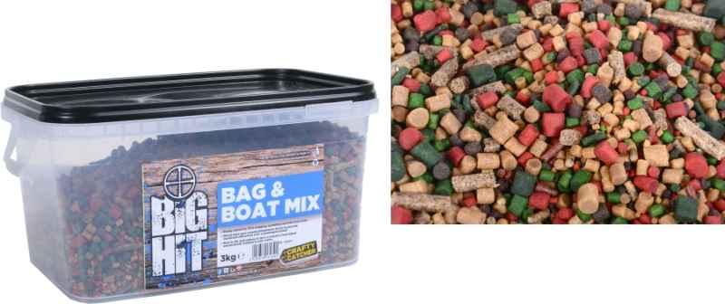 Mix peliet Crafty Catcher Big Hit Mix & Boat 3kg