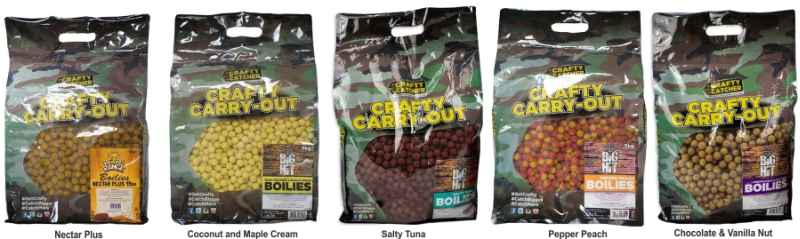 Crafty Catcher Carry Out Big Hit 20mm / 5kg Chocolate & Vanilla Nut / Čokoláda & vanilka