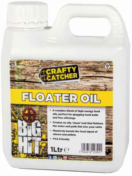 Tekutý posilovač Crafty Catcher hladinový olej 1 liter