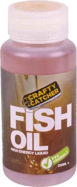 Olej tekutý posilovač Crafty Catcher Miešaný rybí olej