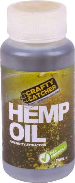 Olej tekutý posilovač Crafty Catcher Konopný olej 250ml