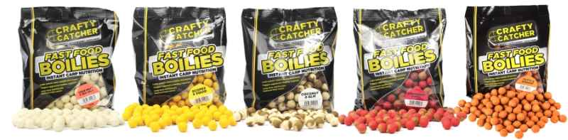 Boilies Crafty Catcher Fast Food 15mm/500g Tutti & Shrimp/Tutti & Shrimp
