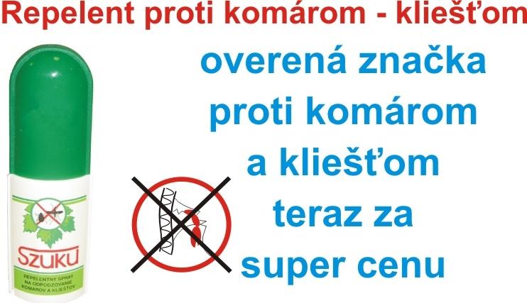 SZUKU repelent SPRAY 50ml 1ks