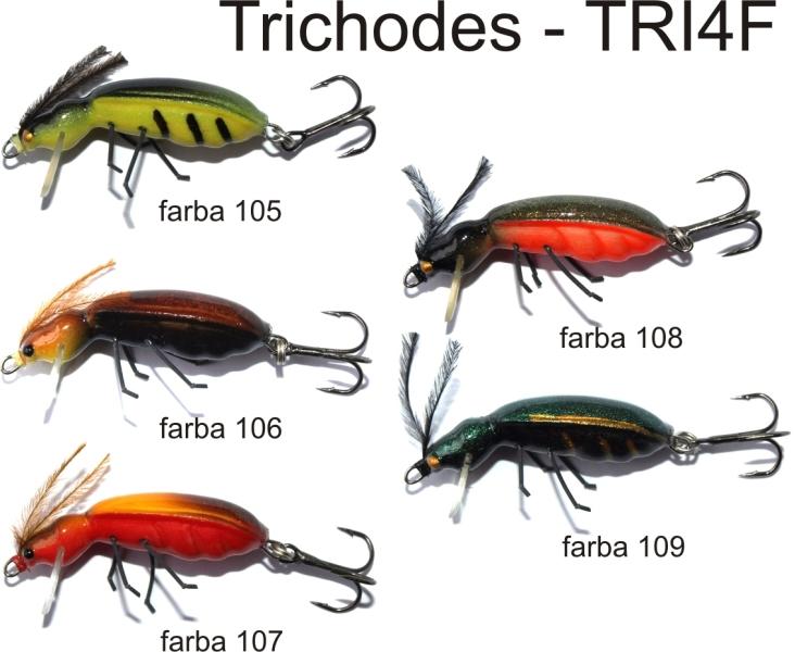 Vobler Lovec hmyz Trichodes 4cm