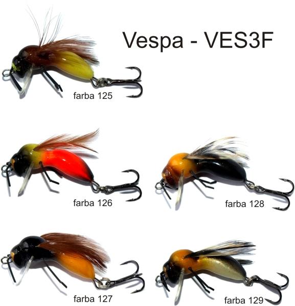 Vobler Lovec hmyz Vespa 3cm