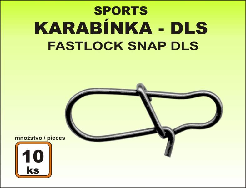 Karabínka rybárska Sports DLS - 10ks v balení
