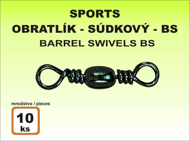 Obratlík Sports BS súdkový - 10ks v balení veľkosť 20 / 6kg / 10ks