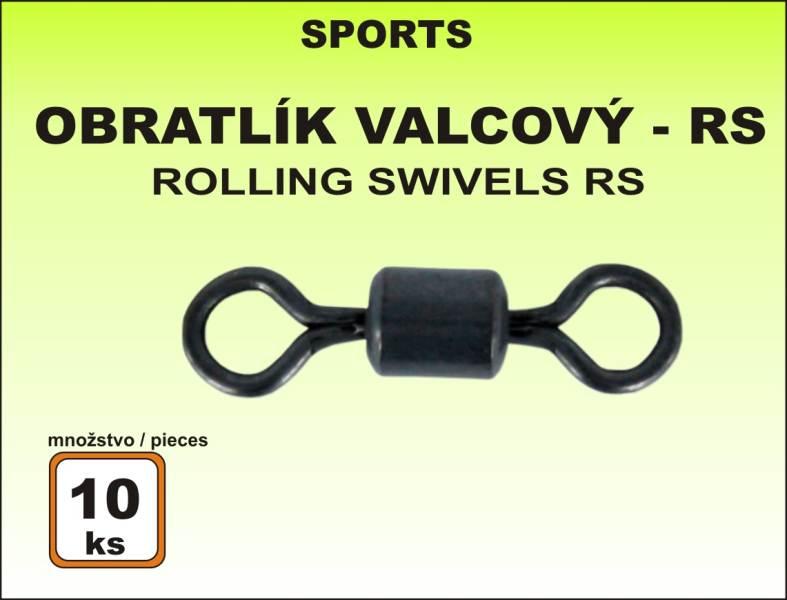 Obratlík Sports BS valcový - 10ks v balení veľkosť 12 / 10kg / 10ks