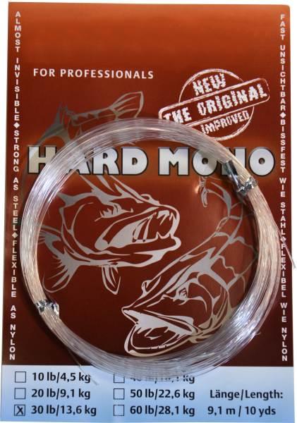 Transparentný silon na šťuky - Hard Mono