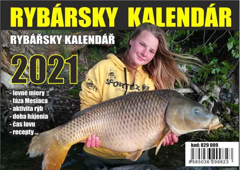 SPORTS Rybársky kalendár s receptami 2021