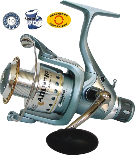 Rybársky navijak zad. brzda ADL 830 RD