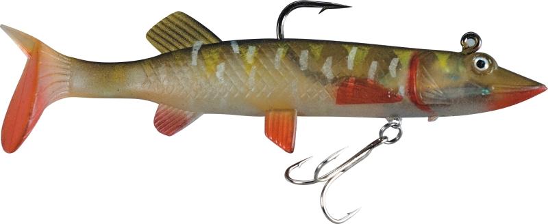 Rybárska nástraha - gumová rybka - šťuka