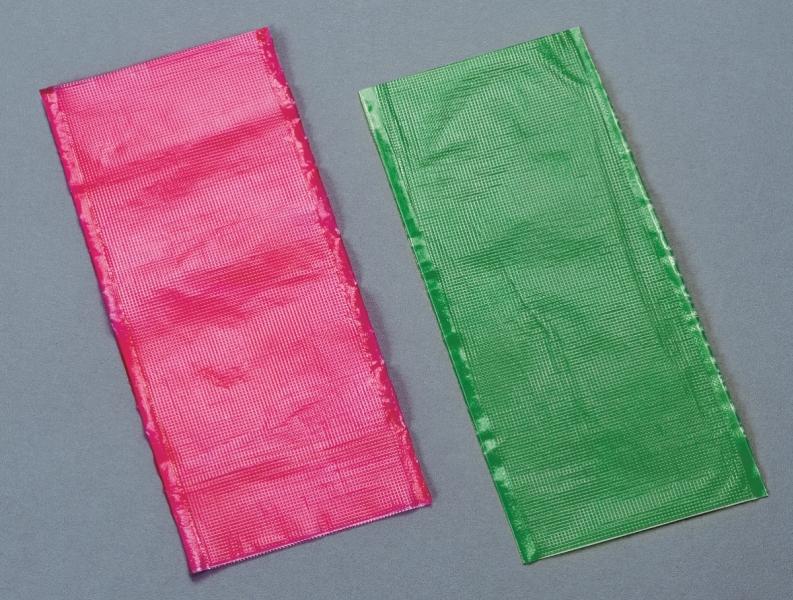 PVA sáčky rozpustné 6x20cm - 10ks 6x20 červený