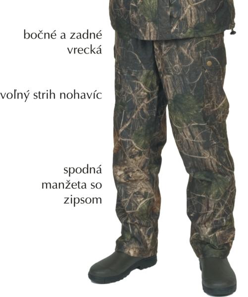 Albastar nohavice maskáč (CAMOU) L 88 88612005 - Albastar nohavice maskáč (CAMOU) XXXL