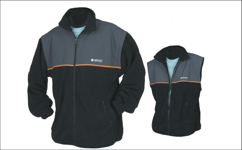 Albastar - fleece bunda / vesta - 2 v 1 veľkosť XXXL