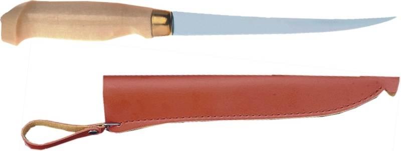 Filetovací nôž 15cm s púzdom na opasok - ALBASTAR