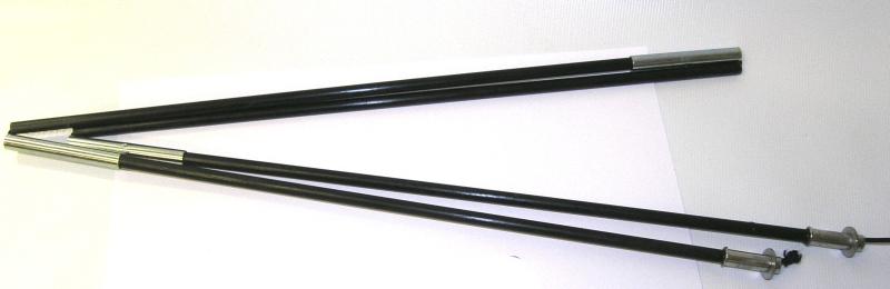 Tyč na prekrývanie špicu - člny CAMOU krátka