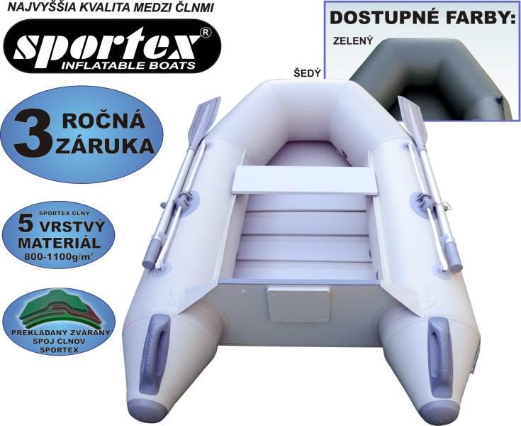 SPORTEX nafukovacie člny SHELF 200 lamelová podlaha