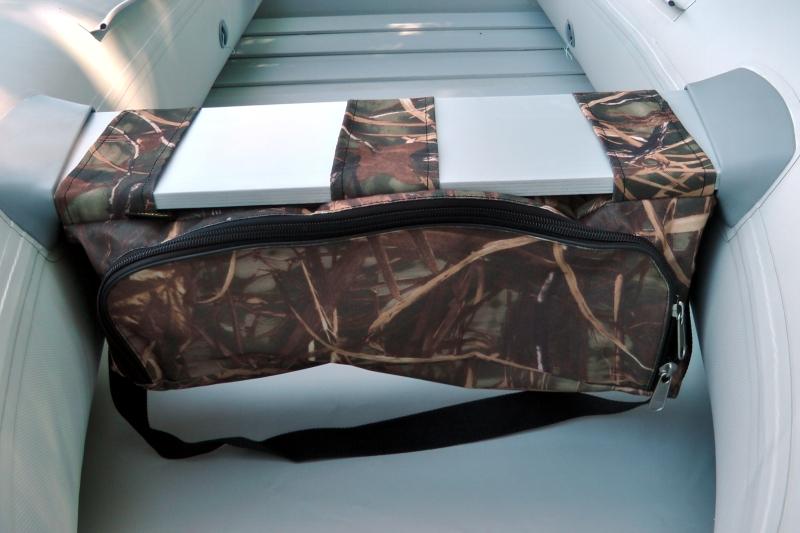 Taška pod sedačku člna - Kamuflážna farba