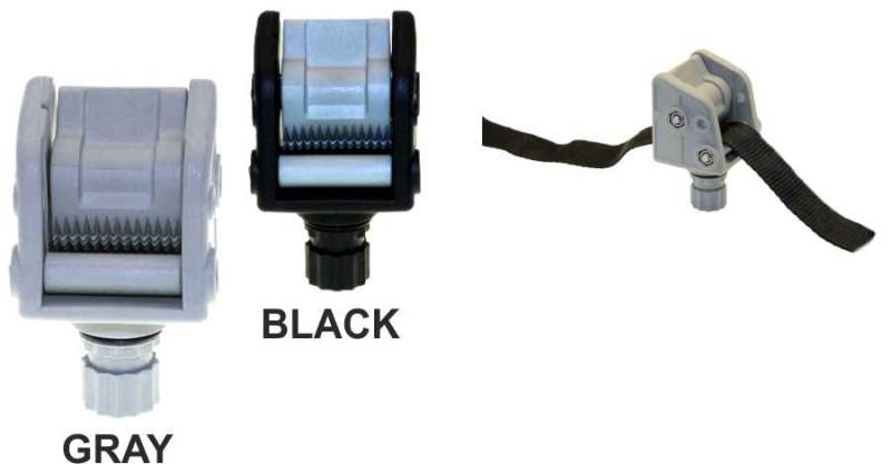 Vodič lana so stop systémom Farba: čierna