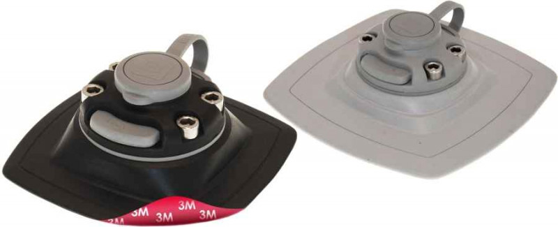 Samolepiaci základný držiak na čln - FASTEN 110x110mm Farba: biela 110x110mm