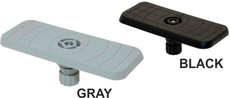 FASTEN platforma na rôzne príslušenstvo 164 x 68 mm Farba: čierna