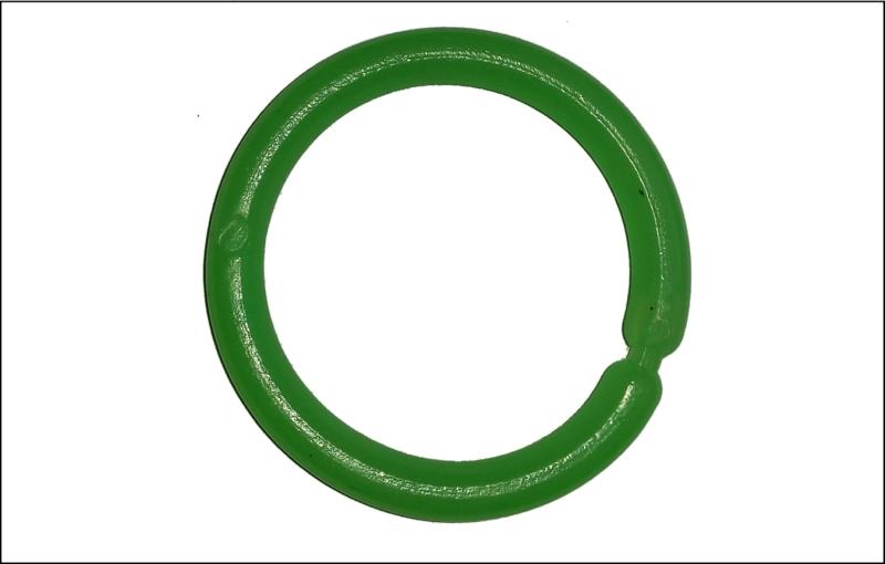 Signálny krúžok - SPORTS veľký - farba zelená