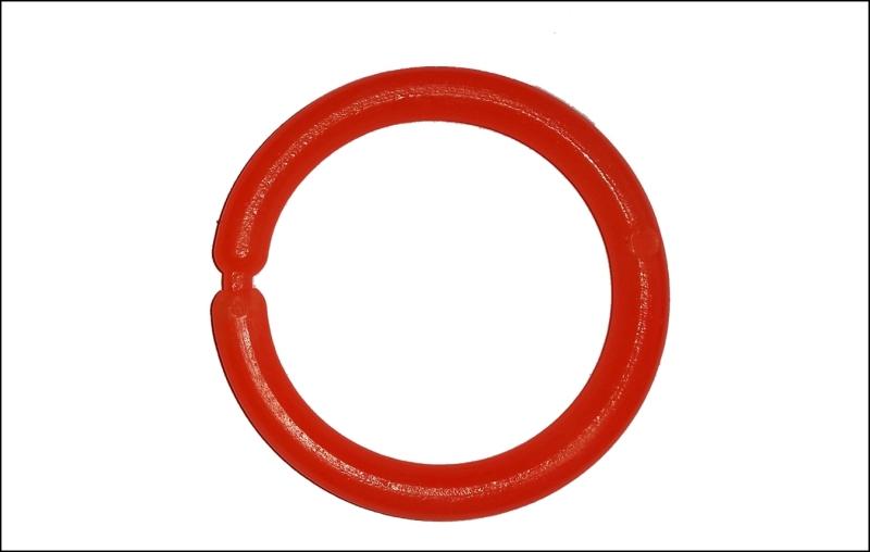 Signálny krúžok - SPORTS Malý - farba oranžová