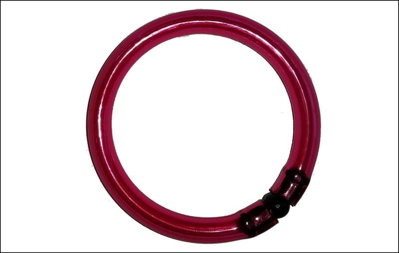 Signálny krúžok na chemické svetlo - SPORTS veľký - farba červená