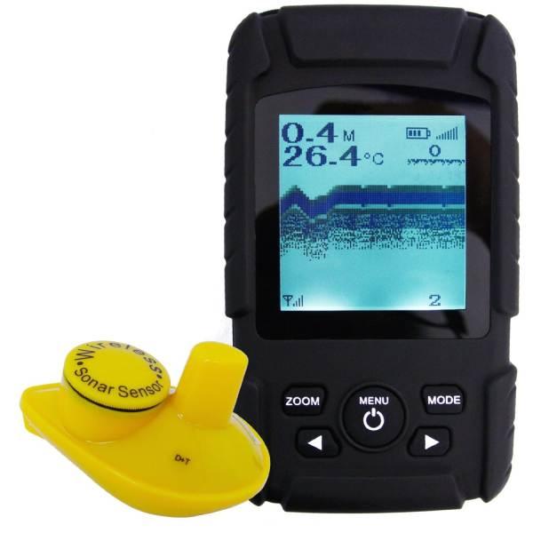 Bezdrôtový nahadzovací sonar s dosahom 180m