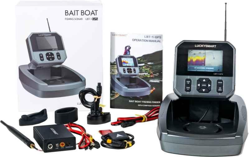 Bezdrôtový farebný sonar LBT-1 s GPS k zaváž. loďke
