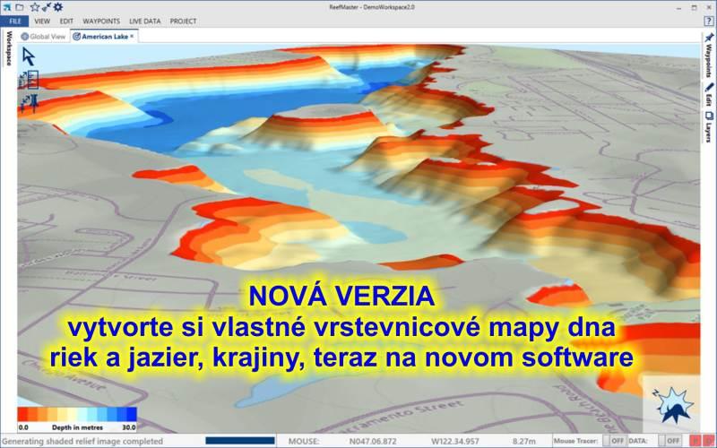 softvér HDS 3D priestorový modeling II. v2.0