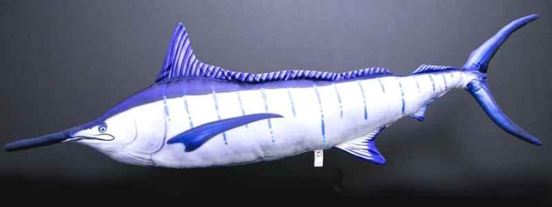 Dekoračný vankúš - Blue marlin 118cm marlin lit up 118 cm