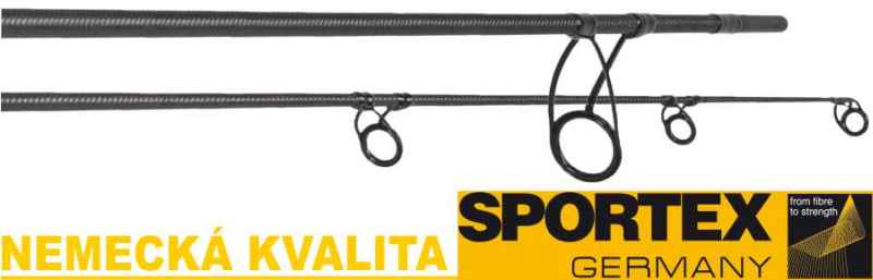Kaprárske prúty SPORTEX Impressive Carp 2-diel 366cm / 3,00lbs