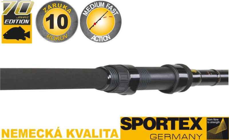 Kaprárske prúty SPORTEX Advancer Carp 2-diel 366cm / 2,75lbs