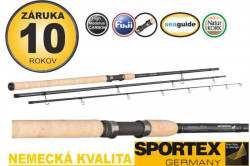 SPORTEX prút - Exclusive Trout - trojdielny