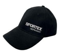 Šiltovka SPORTEX s logom - čierna