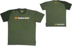Tričko Tandem Baits krátky rukáv - zelené