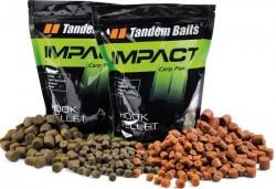 Impact Hook prevŕtané pelety - Tandem Baits