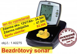Výhodný set - Sonar bezdrôtový + Aku7Ah + nabíjačka