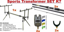 Stojan na udice Sports Transformer SET K7