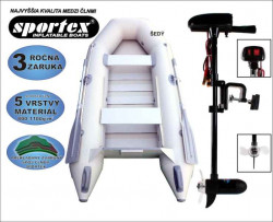 SPORTEX akcia čln Shelf 270 + Engine 18lbs