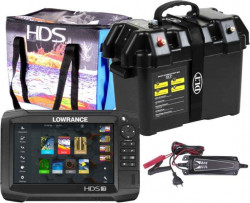 Dotykový sonar LOWRANCE HDS -7 Carbon + Power Box Max