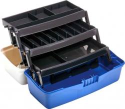 Poschodový kufrík - tri poschodia - 40x20x20cm