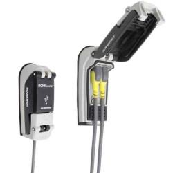 Vodotesná USB nabíjacia zásuvka 12-24V-nízko profilová
