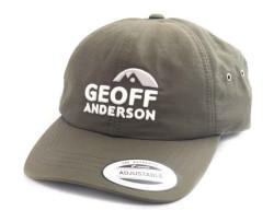 Šiltovka Geoff Anderson FlexFit vodeodolná zelená