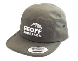 Šiltovka Geoff Anderson FlexFit Jockey zelená