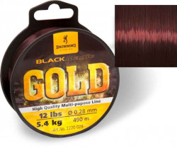 Feeder silon Black Magic® GOLD mono - tmavo hnedý