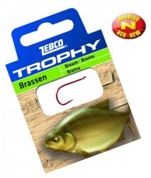 háčik zebco Trophy Bream, vel.6, 0.20mm, 0.7m